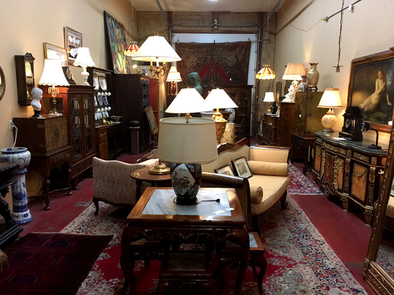 Some Of Our Antiques For Sale: (Click On Photos For Enlargement)